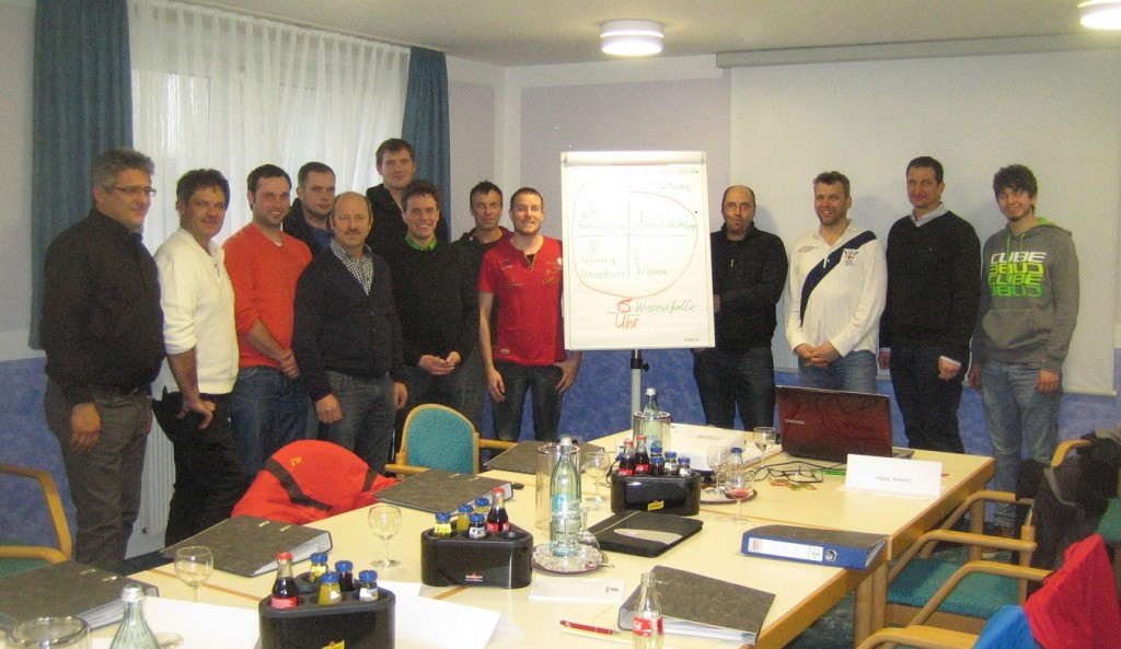 Gruppenbild Seminar »Zeitorientierte Auftragsabwicklung« in Petersaurach bei Nürnberg – Bernd Kramer – BK Consulting