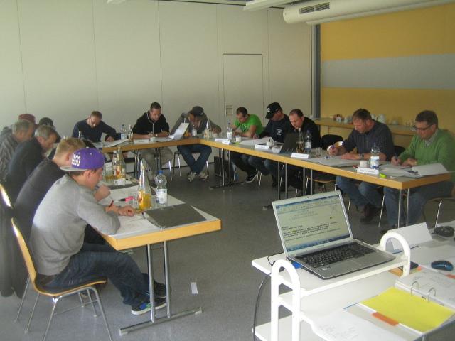 Arbeitsatmosphäre In-house Seminar bei der Firma Prestle in Biberach - Bernd Kramer – BK Consulting