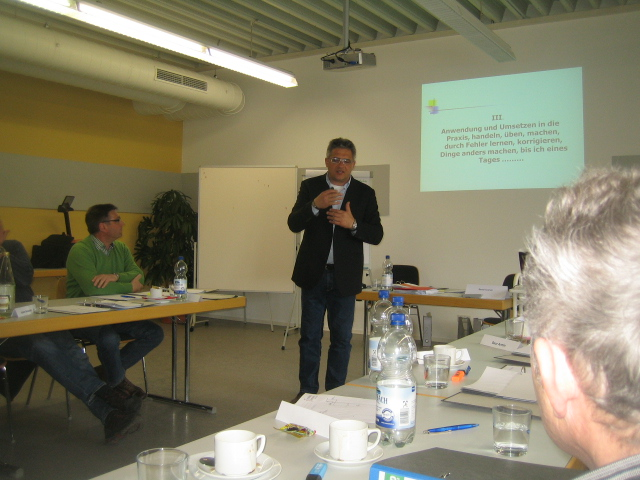 Bernd Kramer referiert bei der Firma Prestle in Biberach - Bernd Kramer – BK Consulting