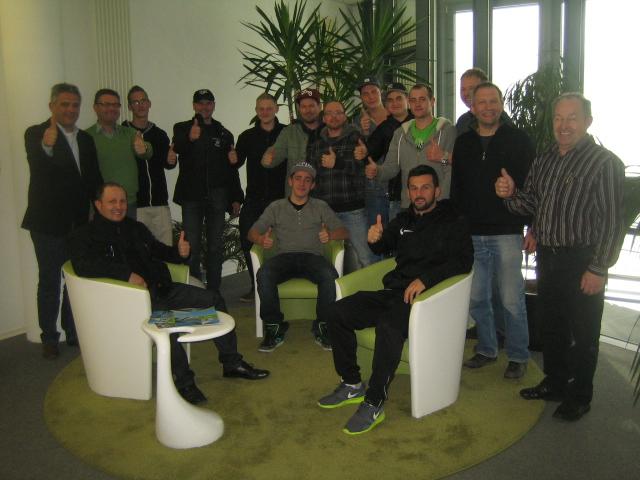 Gruppenbild des In-House Seminars bei Firma Prestle in Biberach - Bernd Kramer – BK Consulting
